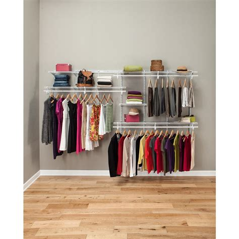 Closet Organizer by Rubbermaid Configurations Custom Closet 3 6 Ft White