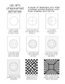 Op Art Sphere Lesson