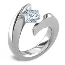 tension setting engagement ring tension set engagement rings yay or nay