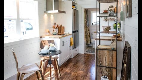 magnificent luxury tiny house  wheels youtube
