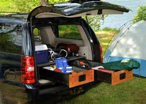 Camping SUV Cargo Storage Drawer