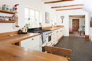 Küche Landhausstil Weiß Modern : holz arbeitsplatten machen die moderne k che gem tlich ~ Bigdaddyawards.com Haus und Dekorationen