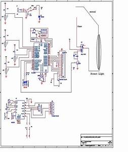 Circuit Diagram Automatic Street Light Control System