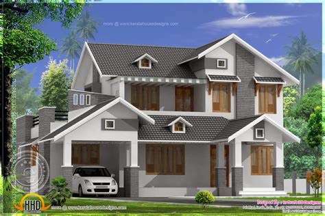 sloping roof house design dma homes