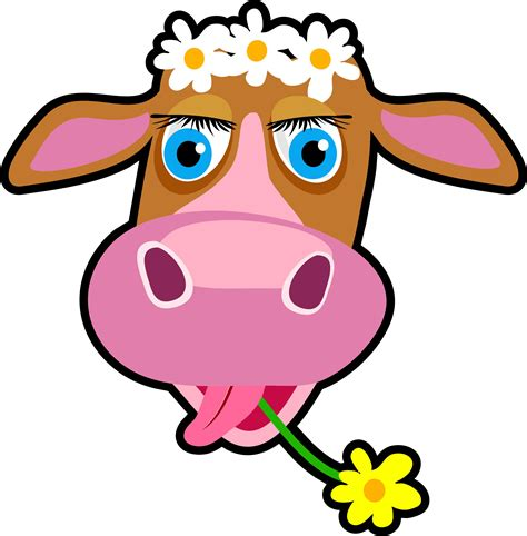 Daisy The Cow Free Images At Vector Clip Art