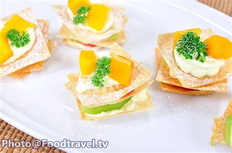 fruit canapes fruit canape canape polamai ruam foodtravel tv recipe