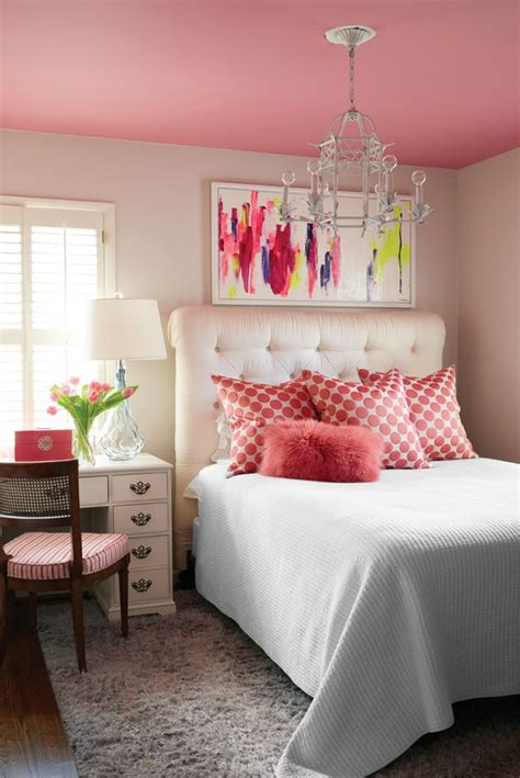 Bedroom Ideas For Pink Walls by Best 25 Pink Ceiling Ideas On