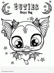 littlest pet shop lps coloring pages printable pictures