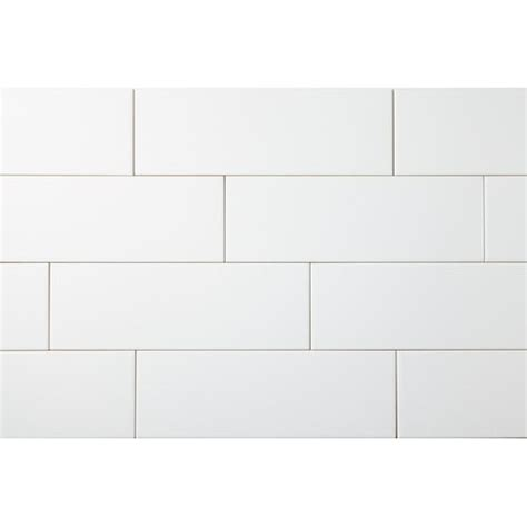 4x12 Subway Tile Daltile by Manhattan 4 Quot X 12 Quot Snow White Glossy Subway Tile
