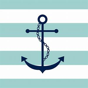 Anchor Background Navy Blue