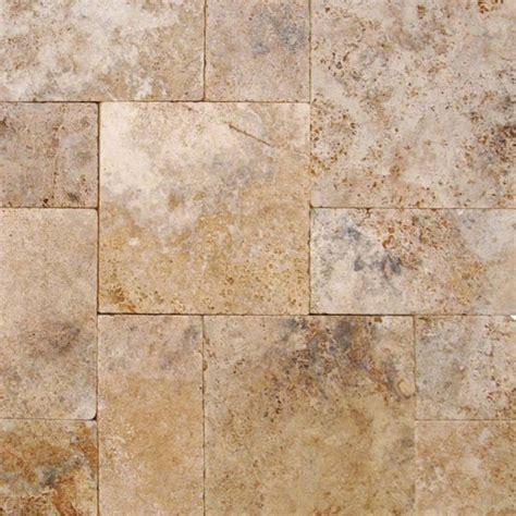 16x16 travertine tile walnut rustico travertine tumbled 16x16 pavers tile