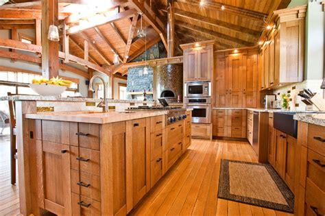 neo craftsman   country home craftsman kitchen