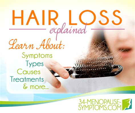 Hair Loss Symptom Information | Menopause Now