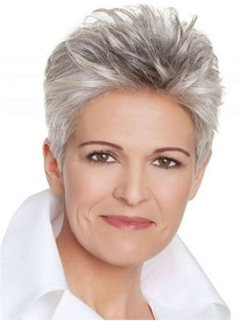 classy short hairstyles  grey hair gallery