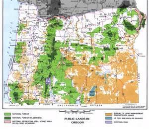 BLM Oregon Public Lands Map