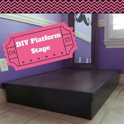 build  platform stage playroom stage kids stage