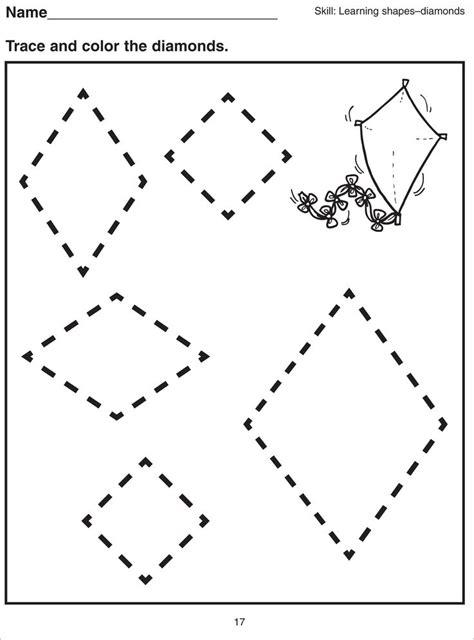 basic shapes worksheets for kids kiddo shelter kids