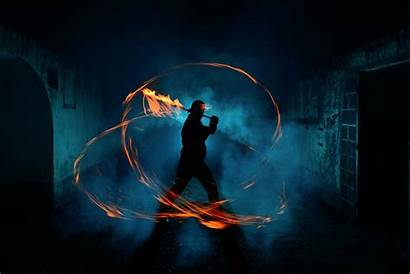 500px Painting Epic Shots Fire Sword Iso