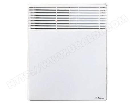 chauffage electrique chambre convecteur thermor 411451 pas cher ubaldi com