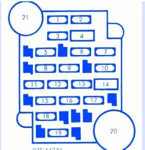 Cavalier Fuse Box Diagram : chevrolet cavalier 1997 main fuse box block circuit ~ A.2002-acura-tl-radio.info Haus und Dekorationen