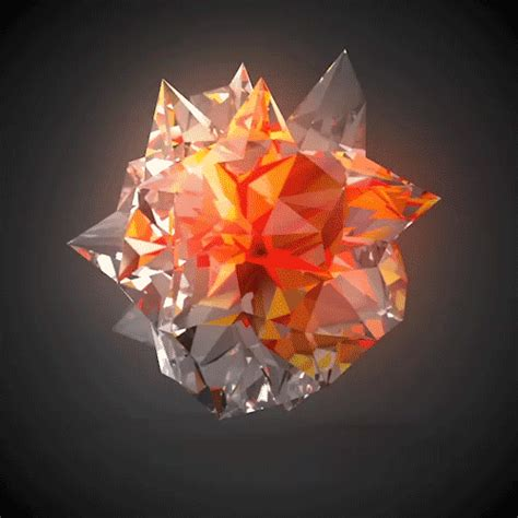 3d Magic Wallpapers Gif by Shiny Imgur Geo Motion Graphics Animation