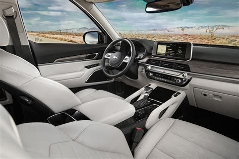 2020 Kia Telluride Ex Interior by The All New 2020 Kia Telluride Offers Rugged Luxury