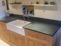 green kitchen worktop kitchen worktops and flooring saddleback slate 1455