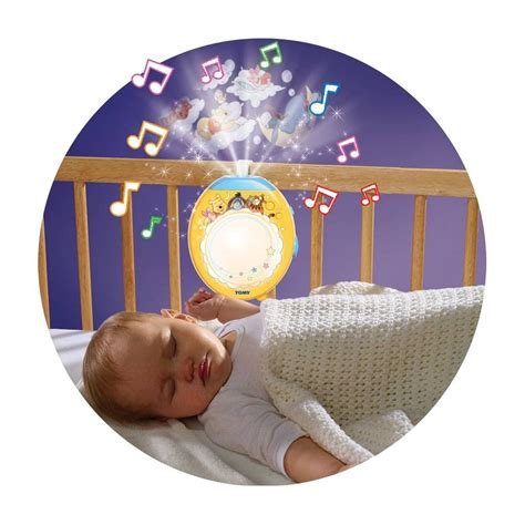 baby light projector winnie the pooh tomy lullaby dreams lightshow baby mobile