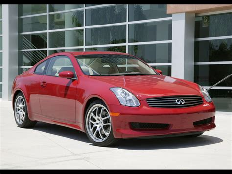 2006 Infiniti G35 Sport Coupe Front And Side 1920x1440
