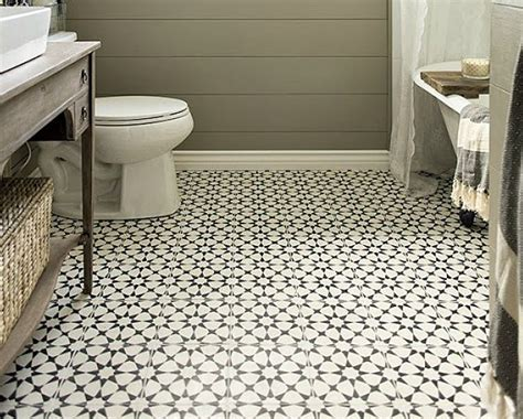 Rubber Floor Tiles For Bathrooms by Vintage Bathroom Floor Tile Pattern Vintage Bathroom