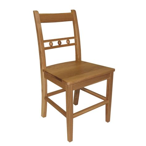 Back Chair by Oak Back Dining Chair