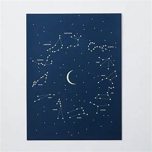 Holstee Poster - Constellation west elm