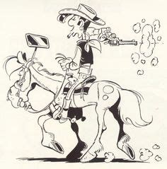 lucky luke coloring picture    stitches