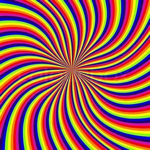 Rainbow, Swirl, Abstract, Vector, Art