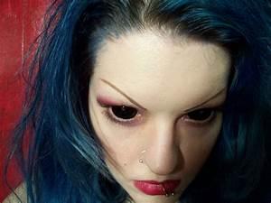 Supernatural Demon Eyes Contacts