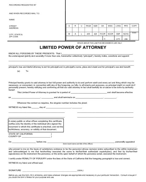 Power Of Attorney Form Zimbabwe Pdf Seven Important Life