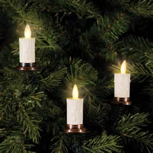 the most realistic christmas tree candles string of 5 candle lights white ebay