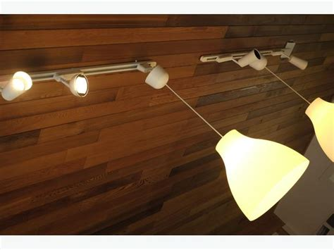 Two Ikea 365+ Sanda Track Lighting Systems Victoria City