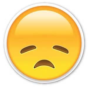 Sad Face Emoji