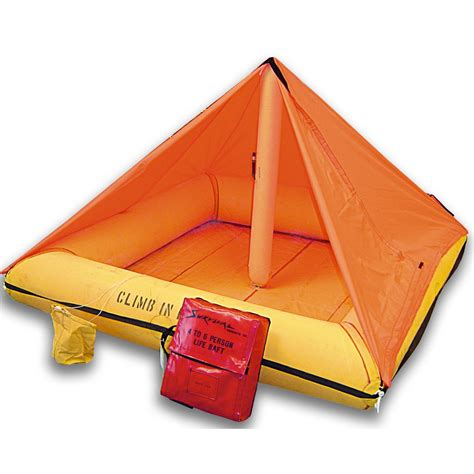 raft with canopy survival liferaft 4 6 person with canopy