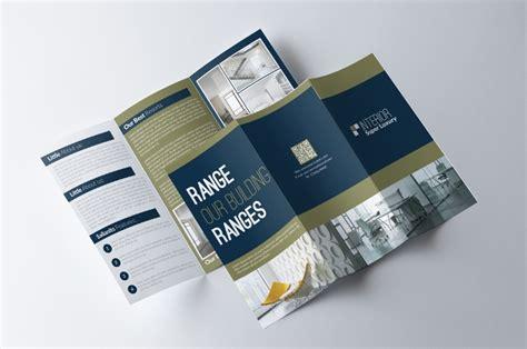 tri fold brochure templates psd ai  design docs