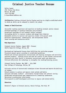 criminal justice resume objective examples best criminal justice resume collection from professionals