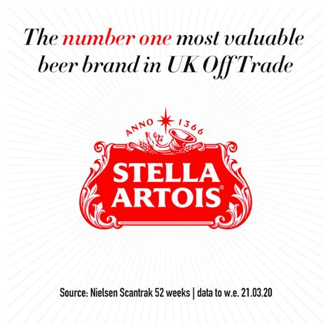 Stella Artois Lager Beer Cans 4 x 500ml   BB Foodservice