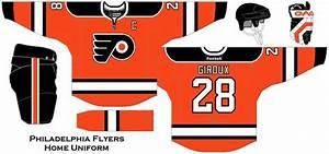 Philadelphia Flyers Home Uniform Concept   Uniform ...