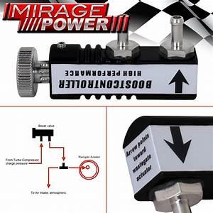 In Cabin Black Adjustable Manual Psi Turbo Boost