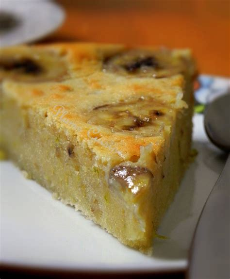 cuisine chocolat gâteau au chocolat blanc et à la banane une plume dans