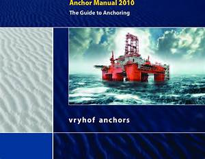 Amopmaak 2005 Voor Pdf Vryhof Anchor Manual