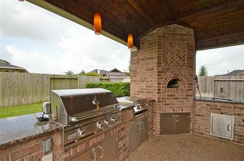 outdoor bbq kitchen cabinets feel the delight moment of a barbeque in your home 3816