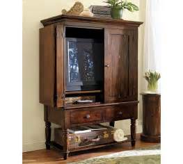 pottery barn media armoire 48 quot wide x 24 quot x 67 quot high wraparound doors allow for