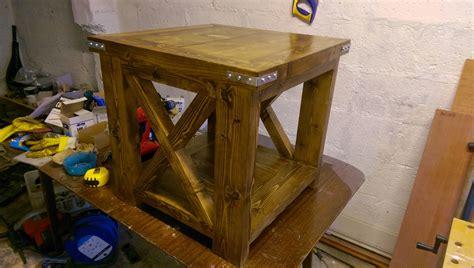 husky farmhouse table benches ana white